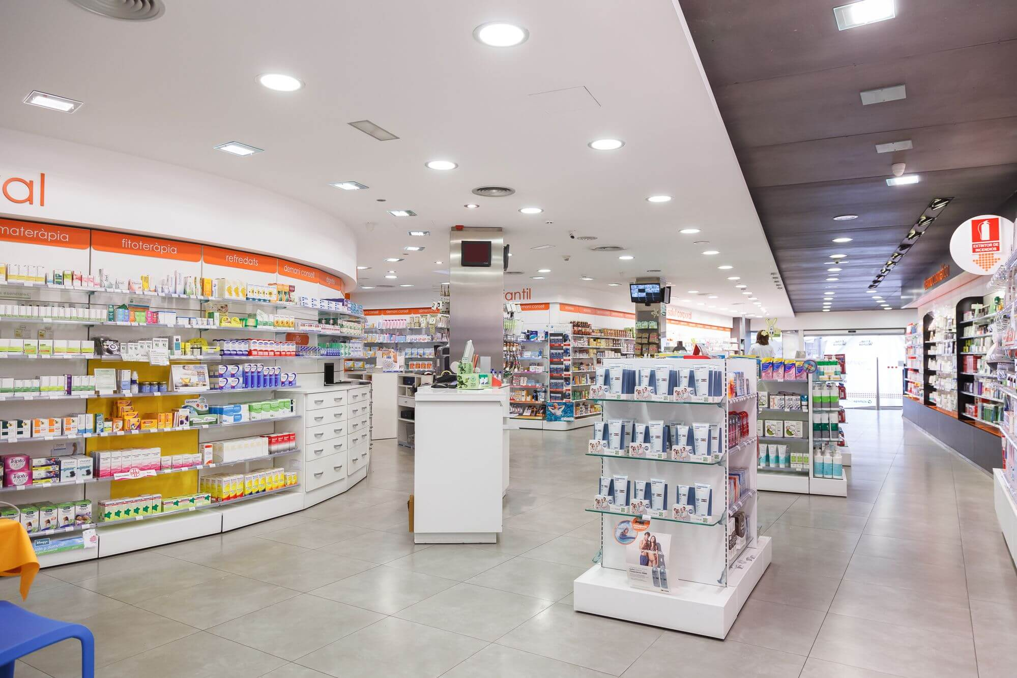 Product Lines pharmacy Blanca Cogul